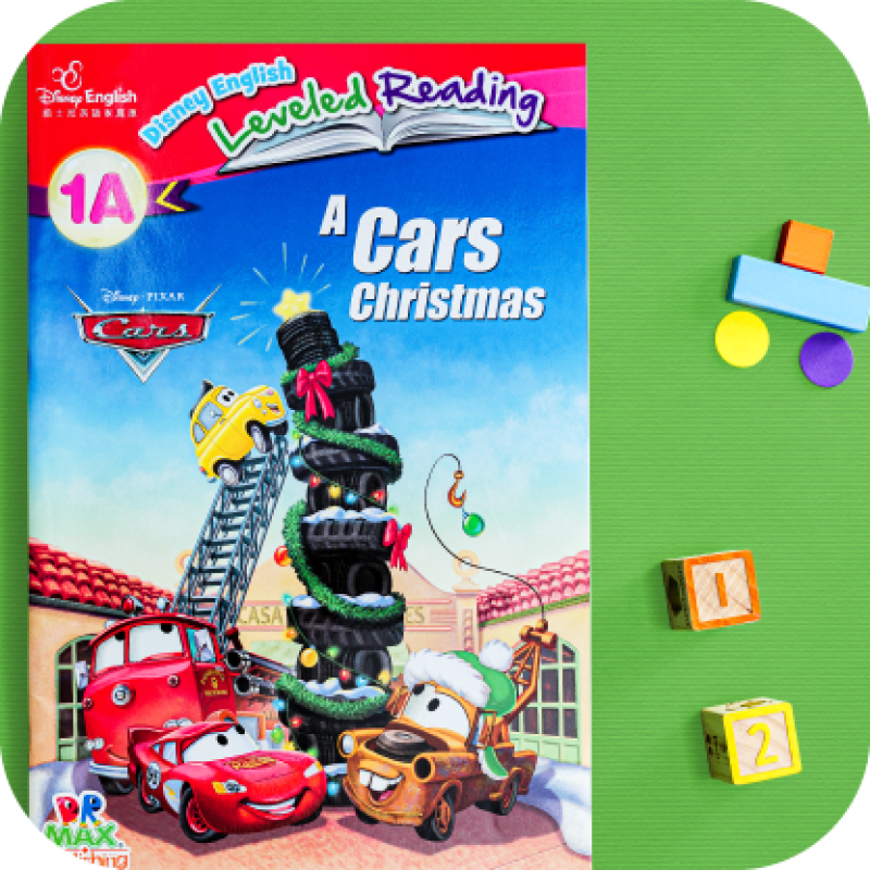 Big Book Series - A Cars Christmas