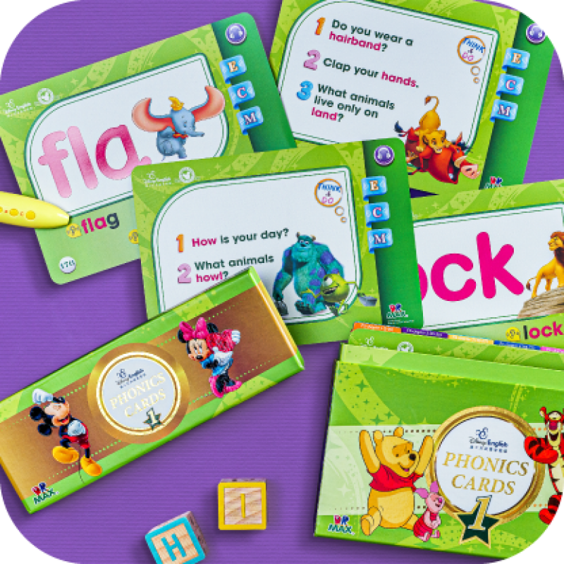 Disney Phonics Cards